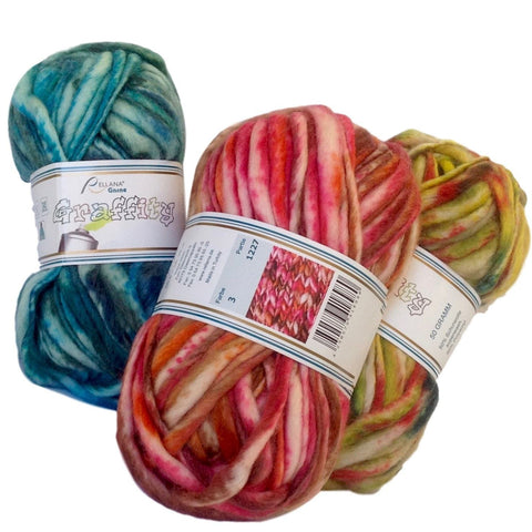 Rellana Graffity yarn for knitting and crochet - I Wool Knit