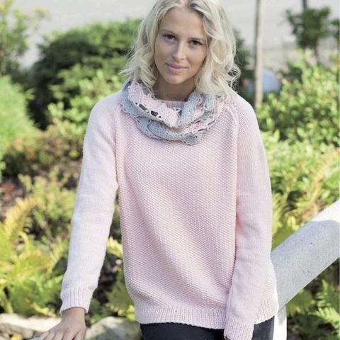 Sweater in Rellana Cotton Soft