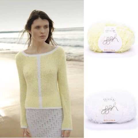 Rebecca Knit Kit with gorgeous ggh Bellina yarn - I Wool Knit