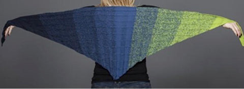 Regenbogen Lace Shawl - I Wool KNit
