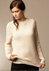 Alpaca Silk Georgette sweater - I Wool Knit