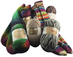 Sock knitting yarns, I Wool Knit