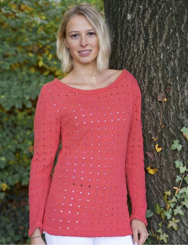 Rellana Sweater in Top Cotton - I Wool Knit