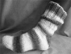 Chunky bed socks from NSW Knitters Guild