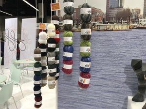 ggh Elbsox yarns displayed at h+h Cologne 2018