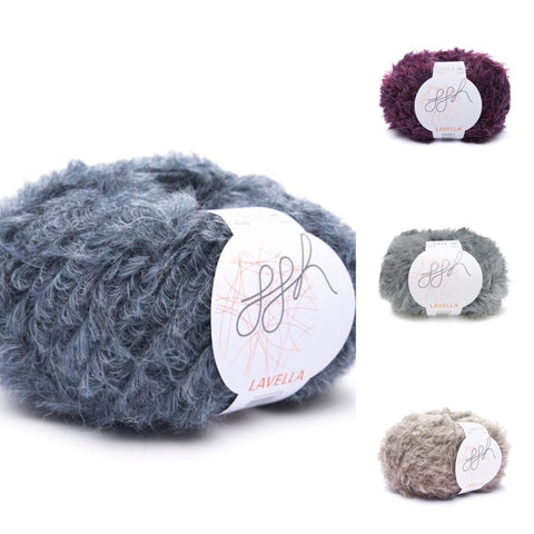 ggh Lavella - natural faux fur yarn - I Wool Knit