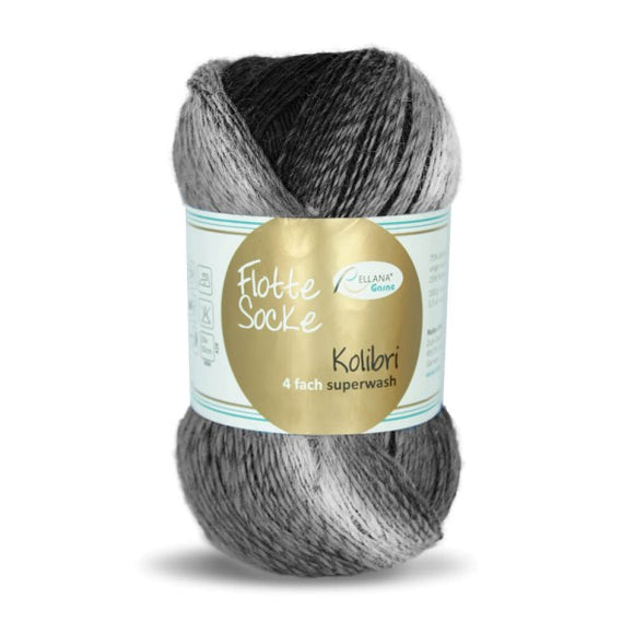 Rellana Flotte Socke Kolibri 6201, sock yarn, 4ply, 100g - I Wool Knit
