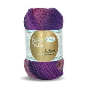 Rellana Flotte Socke Kolibri 6207, sock yarn, 4ply, 100g - I Wool Knit
