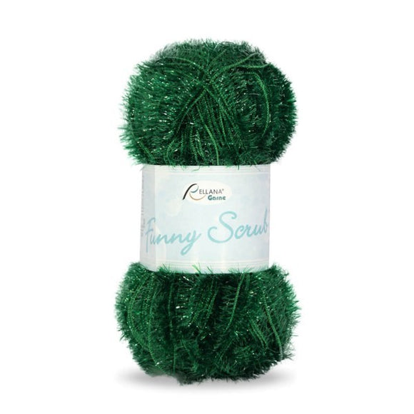 Rellana Funny Scrub 005 green, 50g - I Wool Knit