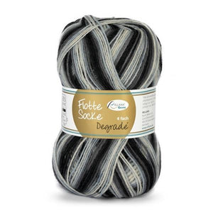 Rellana Flotte Socke Dégradé 1460, 4ply sock yarn, 100g - I Wool Knit