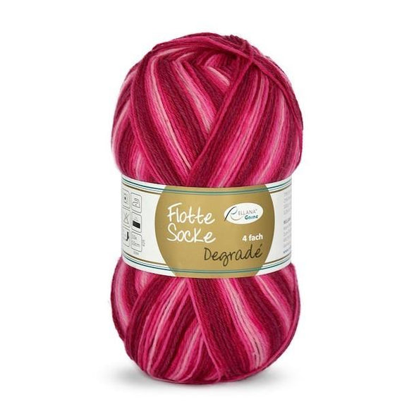 Rellana Flotte Socke Dégradé 1463, 4ply sock yarn, 100g - I Wool Knit