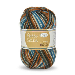 Rellana Flotte Socke Gloria 1564, 4ply sock yarn, 100g - I Wool Knit