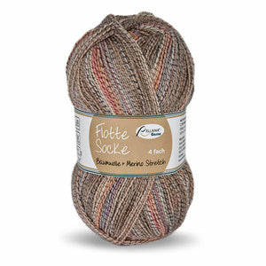 Rellana Flotte Socke Baumwolle-Merino 1552, 4ply, sock yarn with cotton, 100g - I Wool Knit