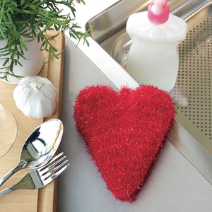 Heart Scrubby - Rellana Crochet Kit - I Wool Knit