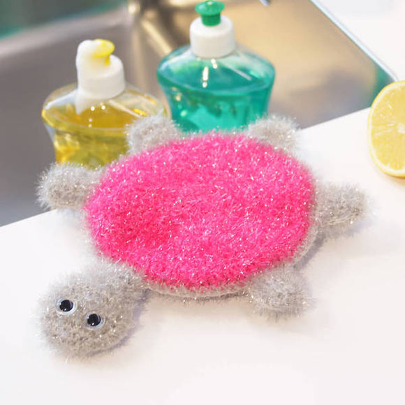 Turtle Scrubby - Rellana Crochet Kit - I Wool Knit