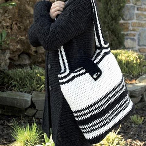 Crochet Pattern Bag in Chunky Cotton - I Wool Knit