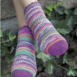 Crochet pattern: Socks in 4ply sock knitting yarn - I Wool Knit