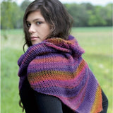 Shawl in Kolibri - Knit Kit - I Wool Knit - 1