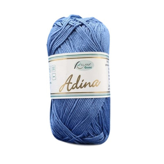 Rellana Adina 12, blue, 100% cotton, 4ply, 50g - I Wool Knit