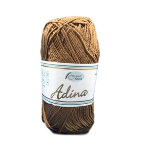Rellana Adina 28, deer, 100% cotton, 4ply, 50g - I Wool Knit