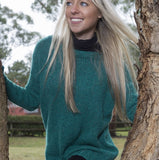 Donegal Jumper in Irish Tweed - Knit Kit - I Wool Knit