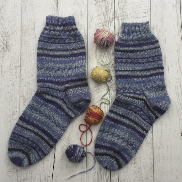 Monte Bianco Socks - Knit Kit - I Wool Knit