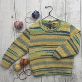 River Sweater for Kids - Monte Bianco Knit Kit - I Wool Knit
