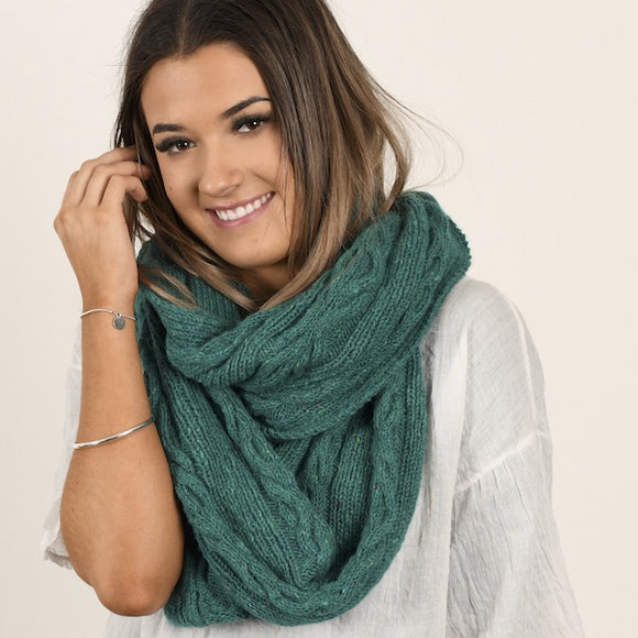 Henbane Cowl in Donegal Irish Tweed - Knit Kit