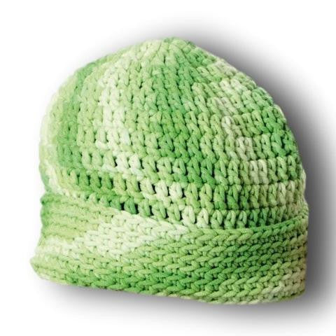 Crochet pattern beanie in Cotton Soft Big - I Wool Knit