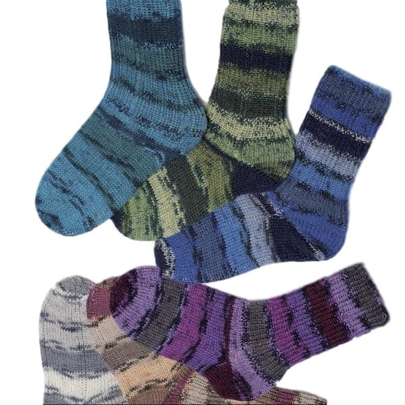 Classic Socks - Rellana Universal Pattern - I Wool Knit