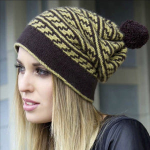 Slipped Possum Hat in Zealana Cozi - Knit Kit - I Wool Knit