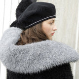 Fur Collar Rebecca Knit Kit, ggh Lavella, I Wool Knit