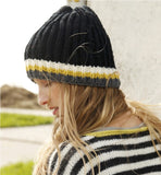 Fishermans Rib Beanie in ggh Sportlife - Rebecca Knit Kit - I Wool Knit