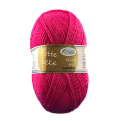 Flotte Socke sock knitting yarn in pink