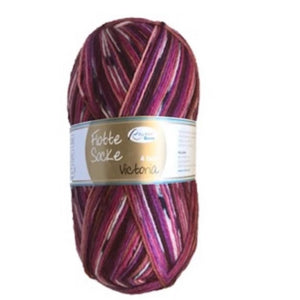Rellana Flotte Socke Victoria. Sock yarn 4ply. Available from I Wool Knit