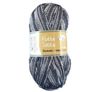 Rellana Flotte Socke Baumwolle 1008, 4ply, sock yarn with cotton, 100g - I Wool Knit