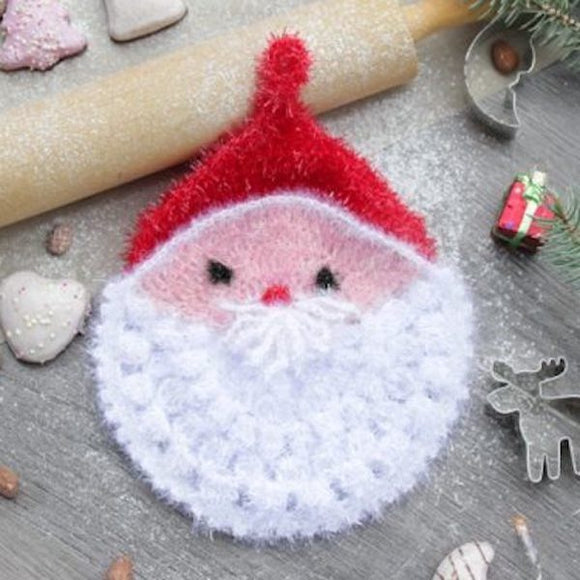Santa in Funny Scrub - Rellana Crochet Kit - I Wool Knit