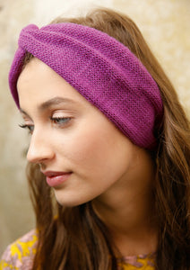 Turban-style headband in ggh Lacy - Rebecca Knit Kit - I Wool Knit