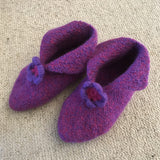 Felted Hygge Slippers in Scandinavian Eco-Wool - Knit Kit - I Wool Knit