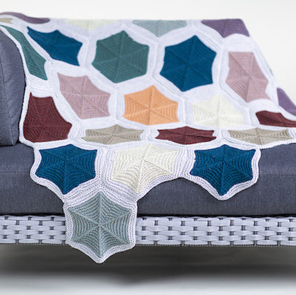 Modular Blanket 'Skep' in Àrd Thìr - Kate Davies Designs Yarn Pack - I Wool Knit
