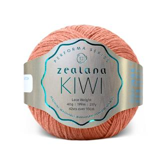 Zealana Kiwi Lace 04, Track, Merino-organic cotton-possum, 2ply, 40g - I Wool Knit