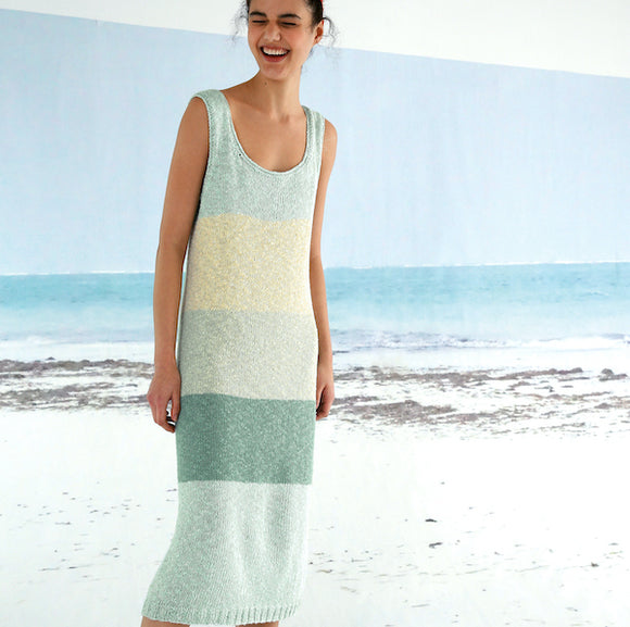 Summer dress in ggh Manila - Rebecca Knit Kit - I Wool Knit