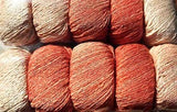 ggh Manila Dégradé 008, coral-apricot, Cotton, Linen & Viscose blend, 50g - I Wool Knit