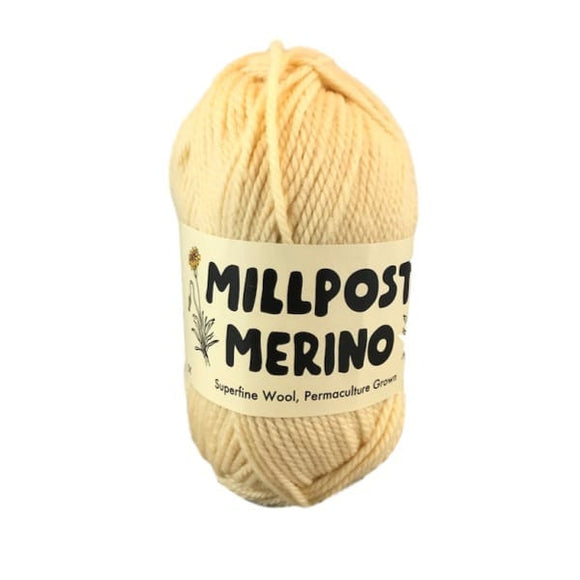 Millpost Australian Superfine Merino knitting yarn, I Wool Knit