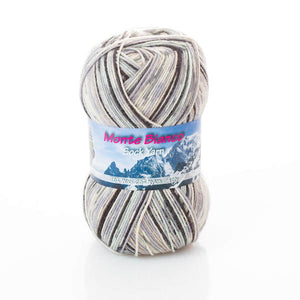 Rial Filati Monte Bianco 509, 4ply, sock yarn, 100g - I Wool Knit