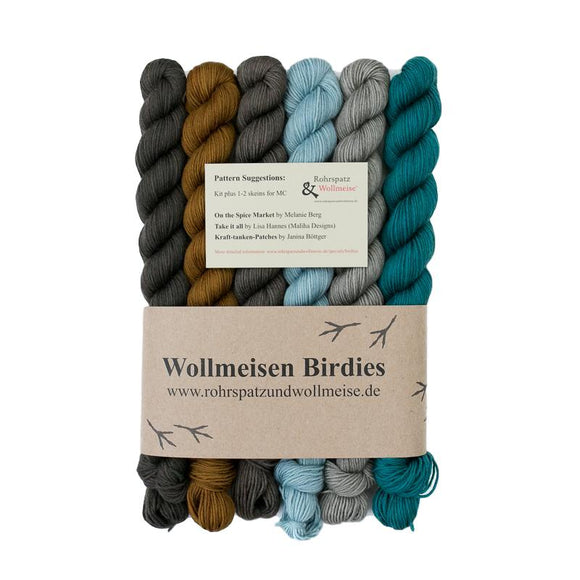 Wollmeise Birdies, Mr Stringer, 180g