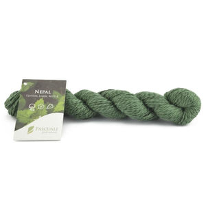 Pascuali Nepal 010 summer forest. Cotton, linen and nettle, 50g - I Wool Knit