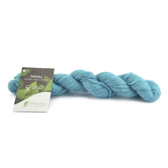 Pascuali Nepal. cotton, linen and nettle knitting yarn. I Wool Knit