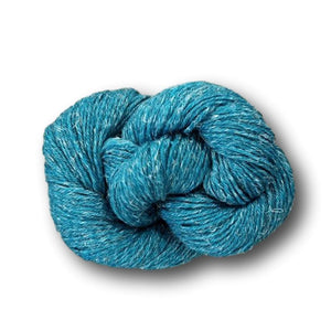 Stolen Stitches Nua by Carol Feller. Merino, yak and linen knitting yarn available from I Wool Knit