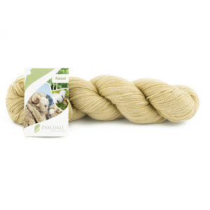 Pascuali Forest 103 sand, 4ply, 100g - I Wool Knit